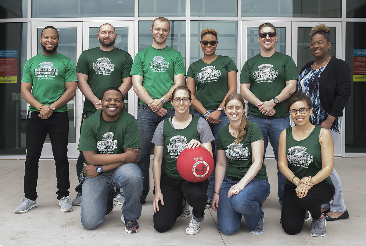 Safety engineers translate kickball passion to the office