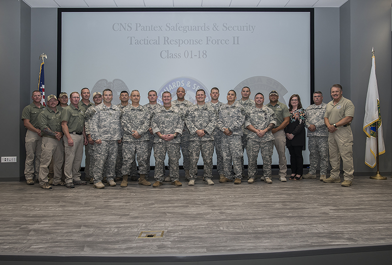 Pantex Special Response Team welcomes 13 new members