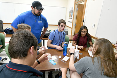 Pantexans with POLO recently took part in the annual Engineering Camp