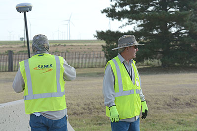 SAMES will support the Pantex mission by providing surveying and engineering expertise