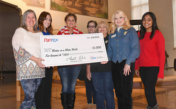 Pantex donates to WOWW Science Collaborative