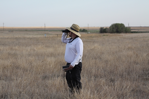 West Texas A&M Graduate Student, Robert Dillon