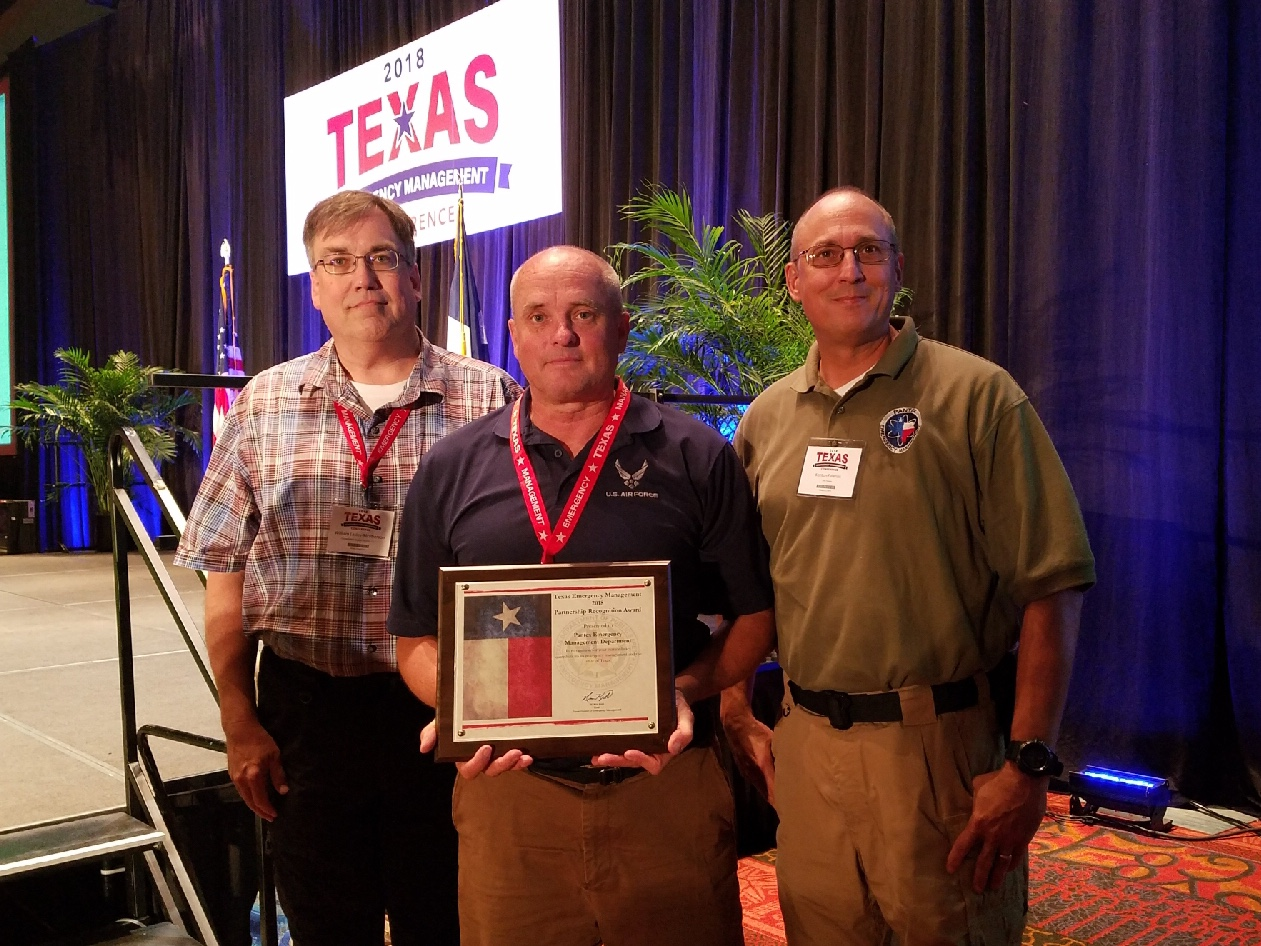 Texas Emergency Management Partnership Recognition Award