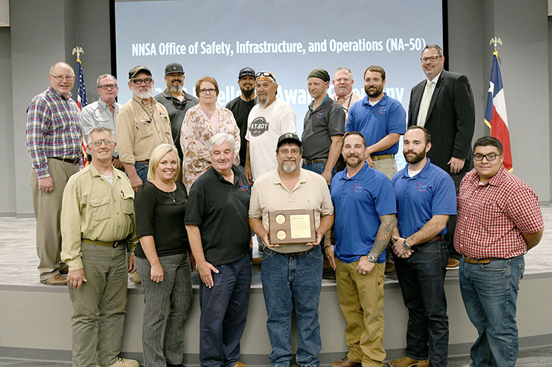 CNS employees receive NA-50 awards