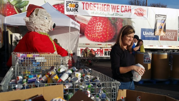 High Plains Food Bank's Together We Can food drive