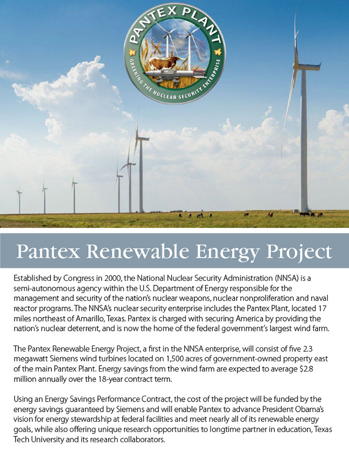 Pantex Renewable Energy Project