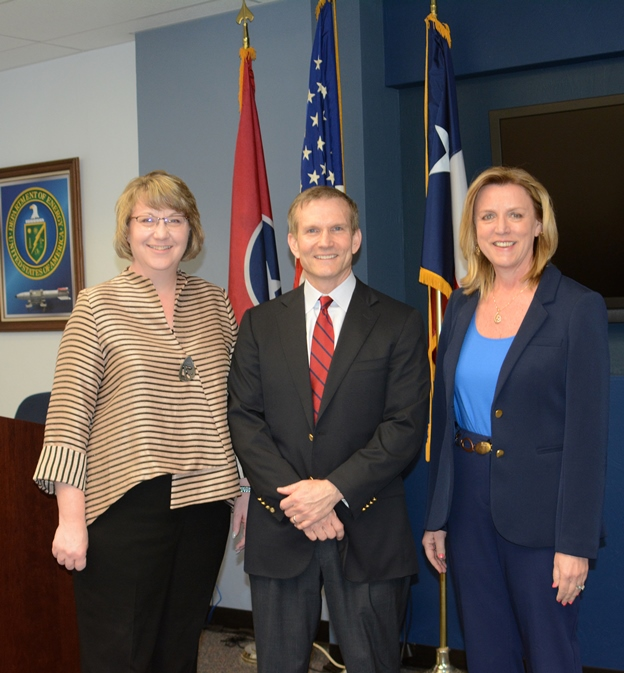 Michelle Reichert, Jim Haynes, & Sec Deborah Lee James