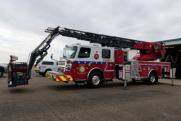 Pantex gets new fire truck